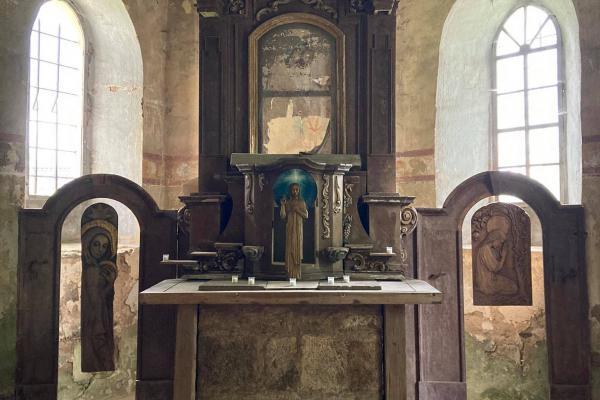 Kostel sv. Ondřeje (Krašov, Bezvěrov) • Kostel sv. Ondřeje (Krašov, Bezvěrov)