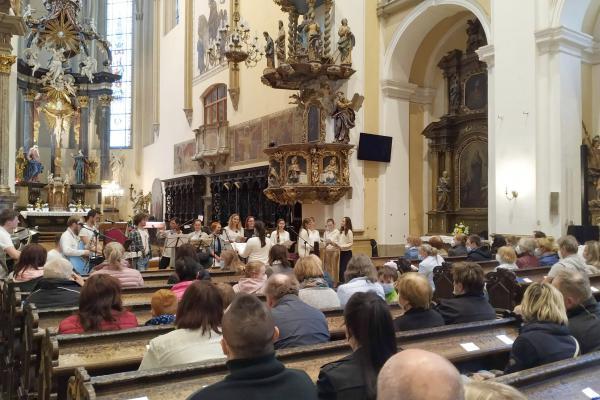 Koncerty v kostele Povýšení svatého Kříže