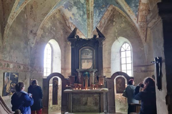 Noc kostelů 2021 - Krašov • Kostel sv. Ondřeje (Krašov, Bezvěrov)