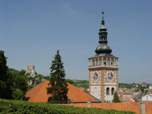 Mikulov, kostel sv. Václava