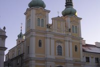 Hradec Králové, kostel Nanebevzetí Panny Marie