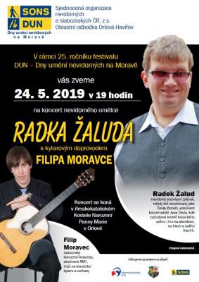 Koncert-zalud-moravec / Koncert Radka Žaluda a Filipa Moravce