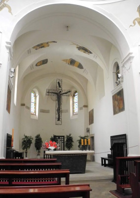 Sv. Vavřinec - interiér