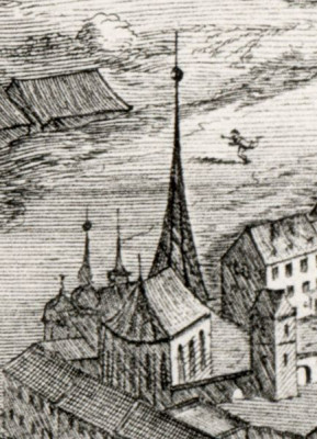 Olomouc, kostel sv. Petra a Pavla