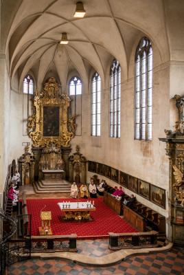 Kapitulní chrám Všech svatých / Interiér chrámu