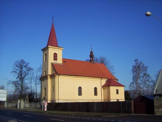 Olomouc-Nové Sady, kostel sv. Filipa a Jakuba