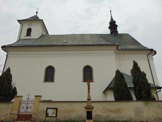 kostel sv. Mikuláše, Horka nad Moravou / kostel Horka nad Moravou