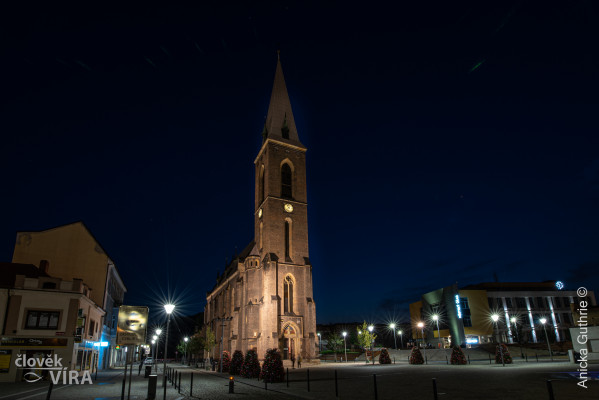 Kralupy nad Vltavou, kostel Nanebevzetí Panny Mari