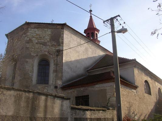 Pchery, kostel Nalezení těla sv. Štěpána