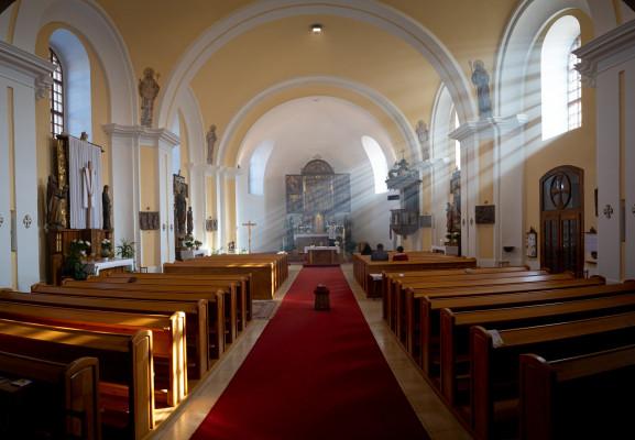 Kostel sv. Vavřince / Velikonoce 2021