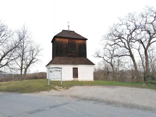 Nová Ves - Vepřek, kostel Narození Panny Marie / Zvonice