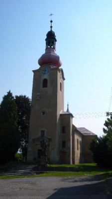 Přerov-Penčice, kostel sv. Petra a Pavla / Přerov-Penčice, kostel sv. Petra a Pavla