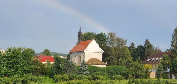 Hřbitovní kostel v Želivě