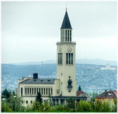 Olomouc-Hejčín, kostel sv. Cyrila a Metoděje / Olomouc-Hejčín, kostel sv. Cyrila a Metoděje