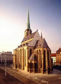 Plzeň, katedrála sv. Bartoloměje