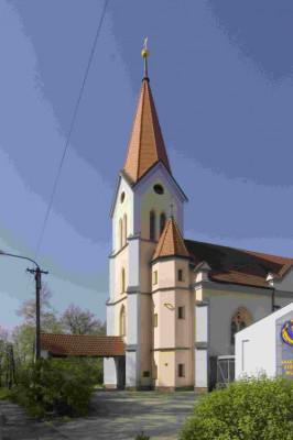 Plzeň-Lobzy, kostel sv. Martina a Prokopa