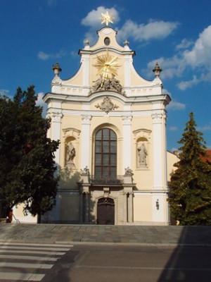 Brno-Královo Pole, kostel Nejsvětější Trojice