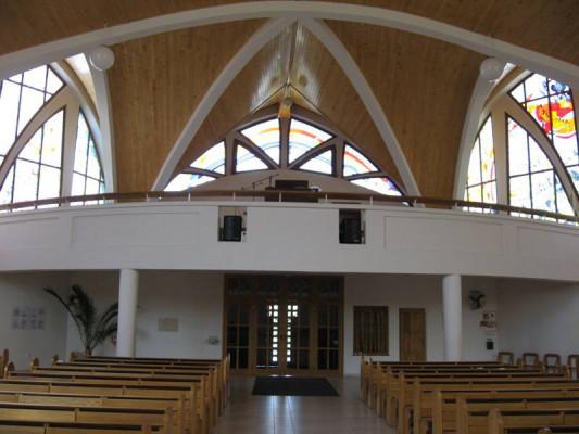 Ostrava-Pustkovec, kostel sv. Cyrila a Metoděje