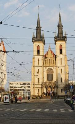 Praha 7 - Holešovice, kostel sv. Antonína Paduánského