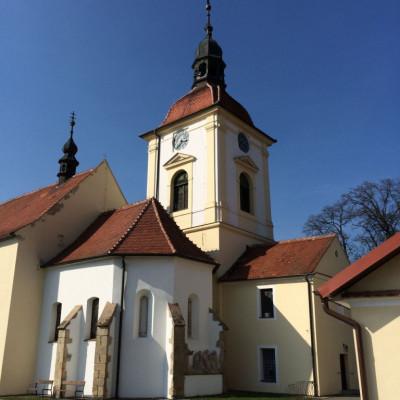 Vracov, kostel sv. Vavřince