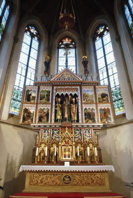 Praha 3 - Žižkov, kostel sv. Prokopa