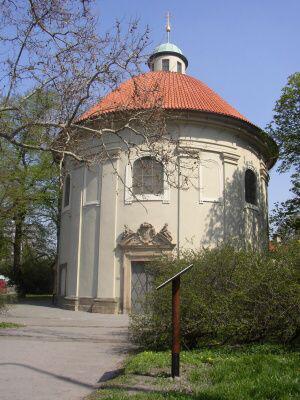 Praha 3 - Žižkov, kostel sv. Rocha, Šebestiána a Rozálie