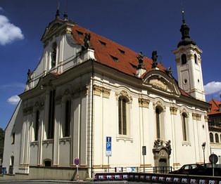 Praha 1 - Staré Město, kostel sv. Šimona a Judy
