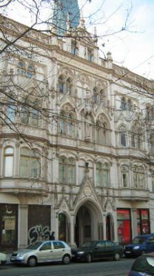 Praha 2 - Vinohrady, kostel ČCE