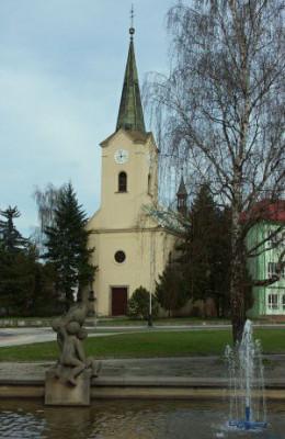 Přerov, kostel sv. Michala