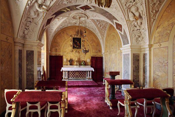 Olomouc, biskupská kaple Narození Páně v arcibiskupském paláci