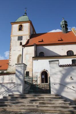 Starý Plzenec, kostel Narození Panny Marie, Malá Strana