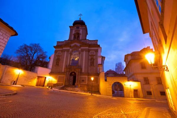 Praha 1 - Hradčany, kostel sv. Jana Nepomuckého