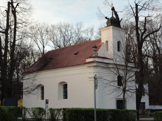 Praha-Satalice, kaple sv. Anny