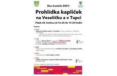 Programový TIP na výlet - Prohlídka kapliček na Veselíčku a v Tupci