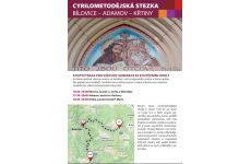 Cyrilometodějská stezka - leták k poutní trase