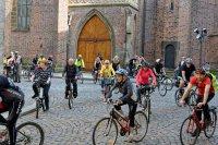 Noc kostelů na kole v Hradci Králové
